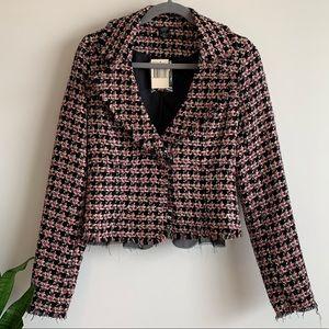 Guess tweed blazer NWT size medium